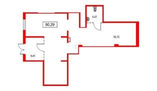 Помещение в ЖК PROMENADE, 118.75 м², 1 этаж