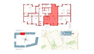 Помещение в ЖК ID Кудрово, 92.87 м², 1 этаж