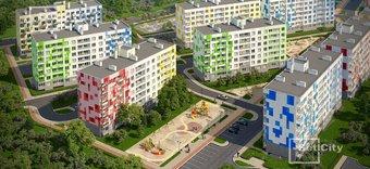Большая однокомнатная квартира за 1,77 млн рублей: дом почти готов!