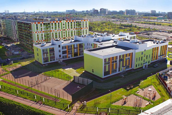 Школа в квартале «Вена» приняла первых учеников