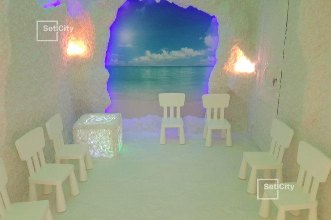 В ЖК Riverside открылся детский сад на 140 мест с бассейном и соляной пещерой