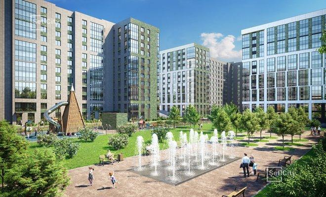 Свой сквер с фонтаном станет местом для прогулок и отдыха всех жильцов.