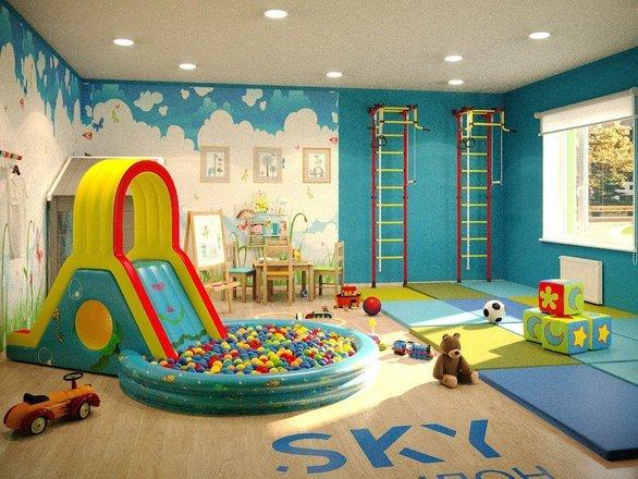Детский клуб в доме