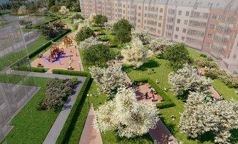 ЖК Зеленый квартал на Пулковских высотах