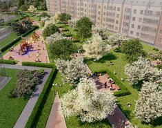 Зеленый квартал на Пулковских высотах